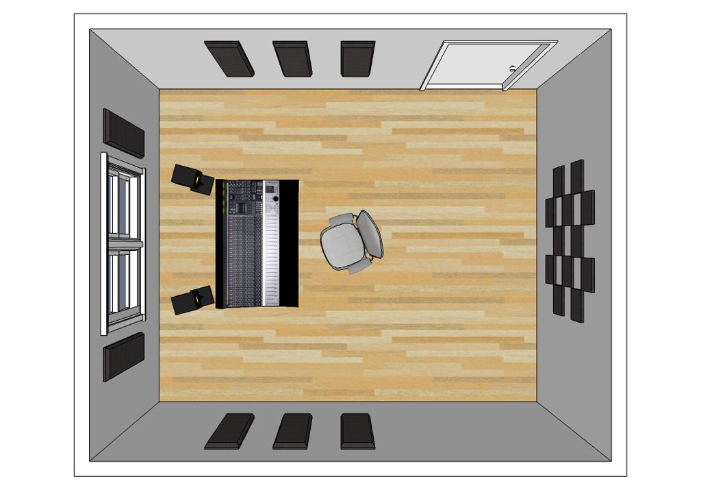 Suggested room layouts primacoustic for 12x14 room layout