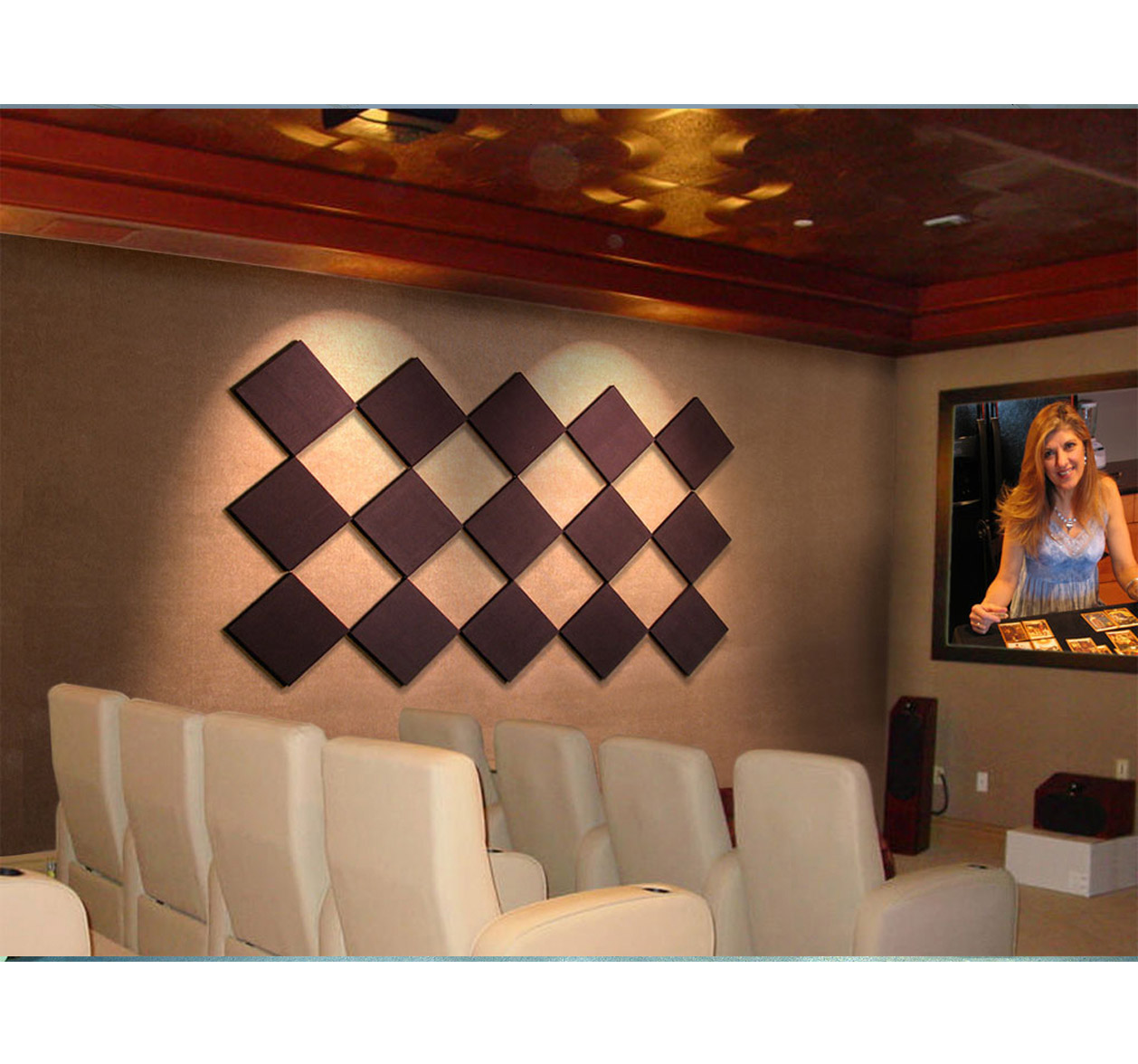 control cubes scatterblocks in home theatre