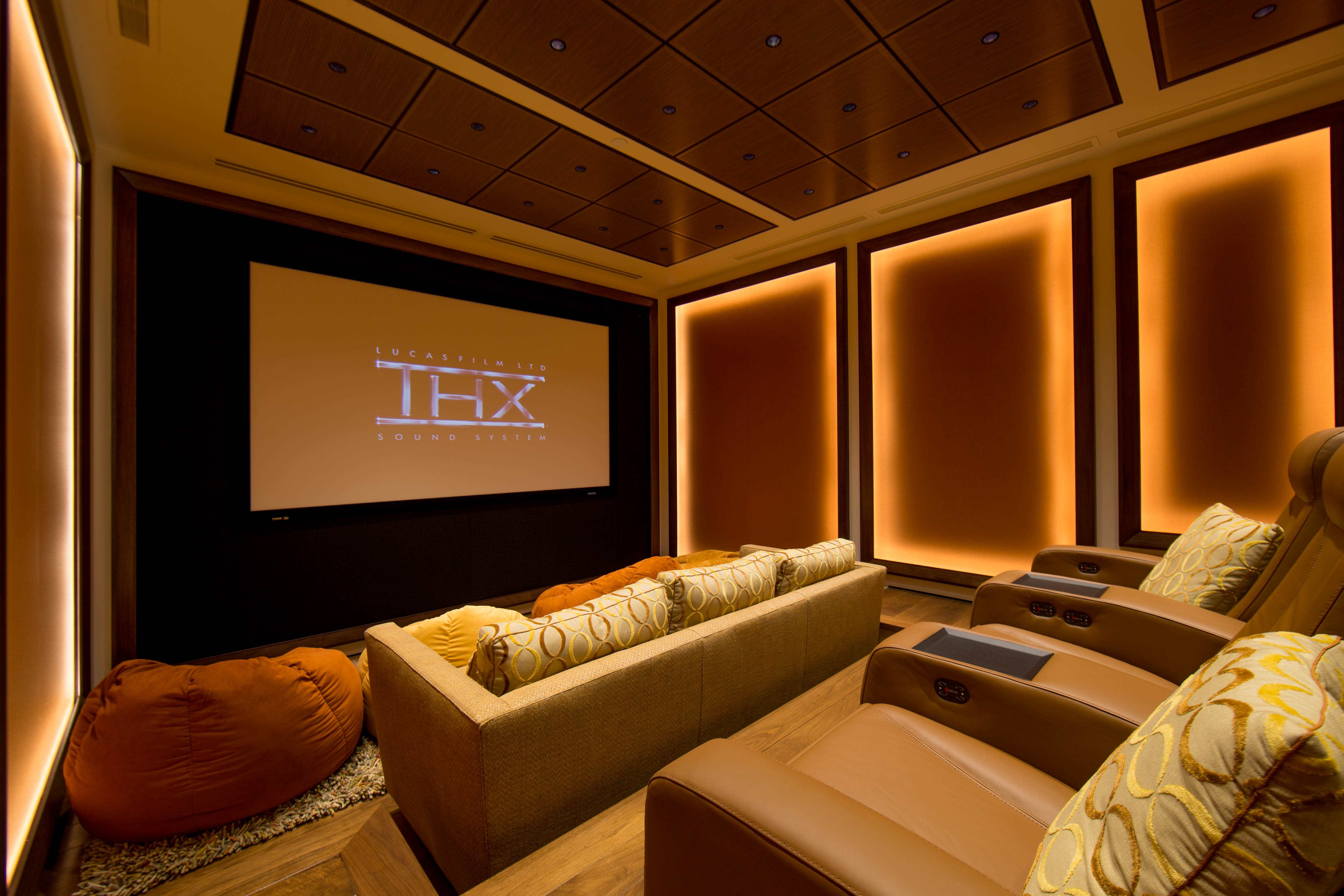 acoustic treatment in home theatre