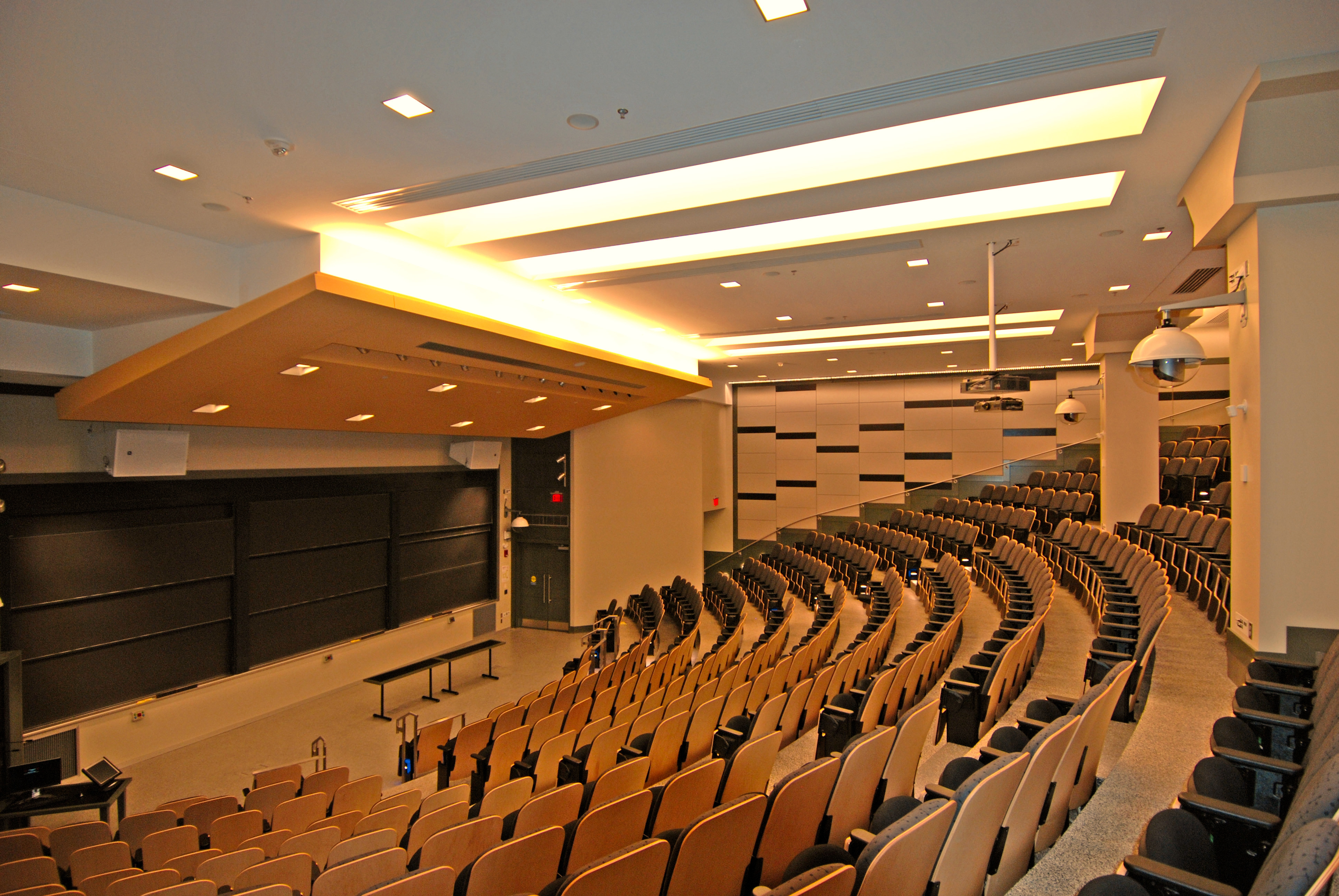 acoustic treatment in classroom space