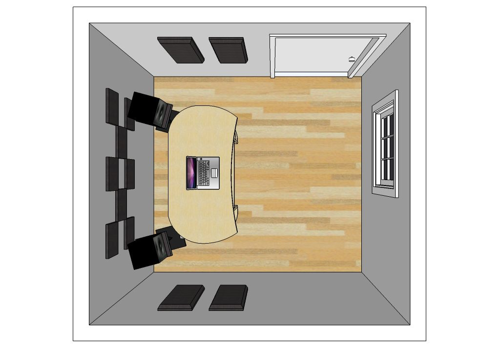 Suggested room layouts primacoustic