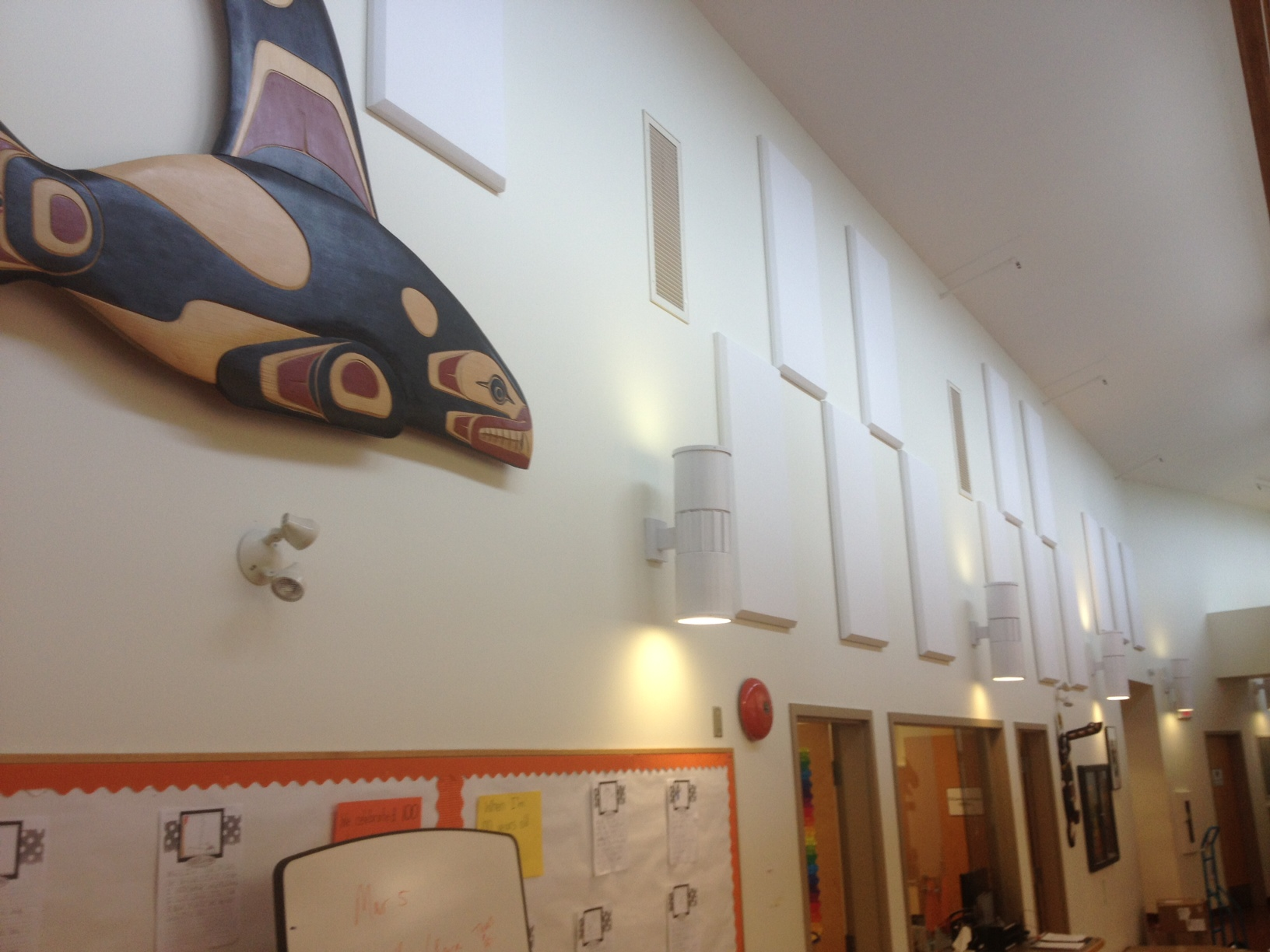 Broadway panels in Capilano School