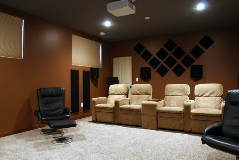 scatterblocks broadway panels in home theatre