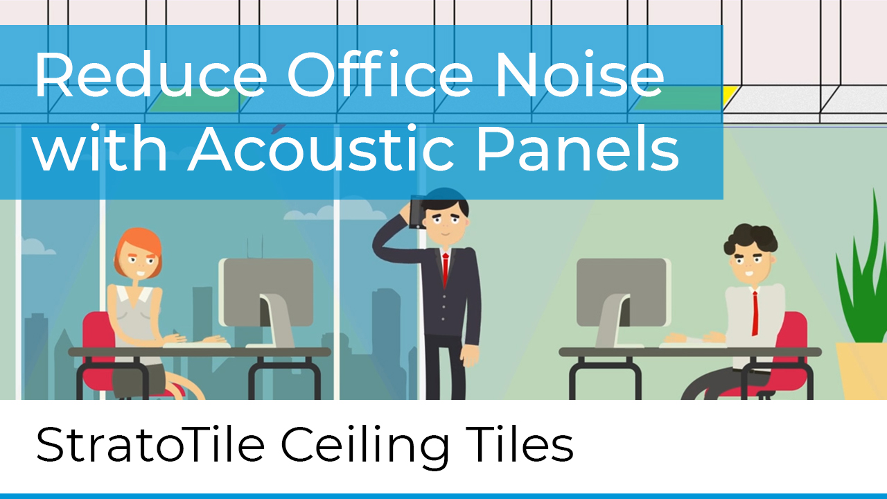 reduce office noise weith acoustic panels