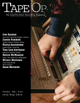 TapeOp Magazine Cover