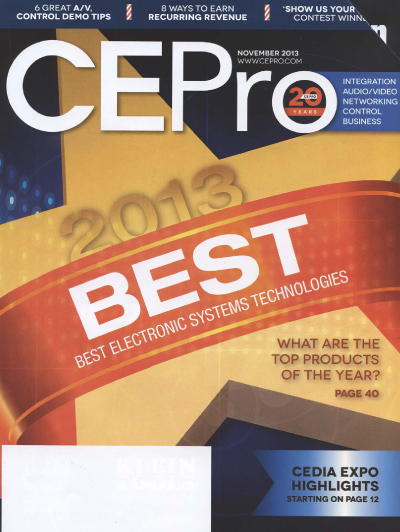 CEPro Magazine Cover