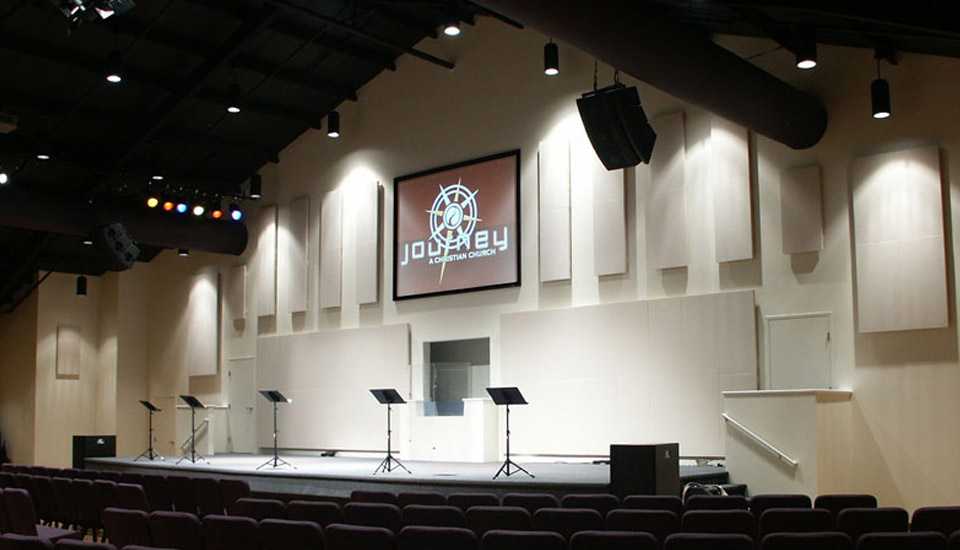 House Of Worship Contemporary Primacoustic