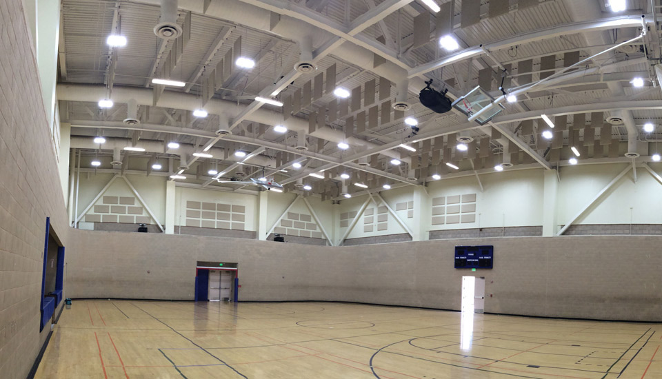 Improving Gym Acoustics