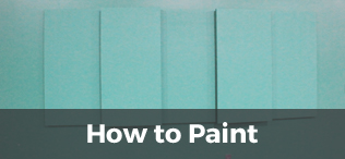 how to paint acoustic panel