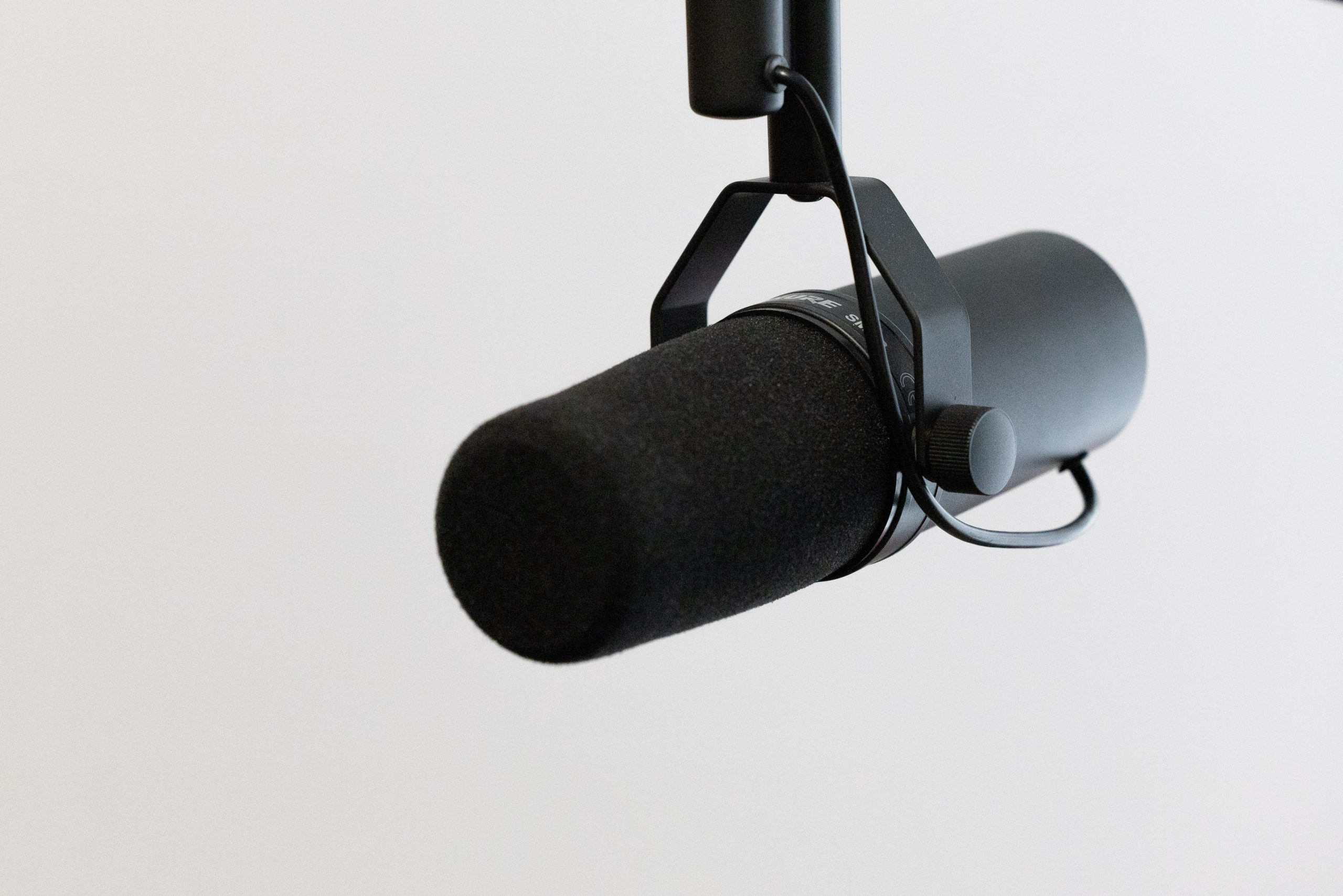 Podcast Mic - Essential Podcast Gear