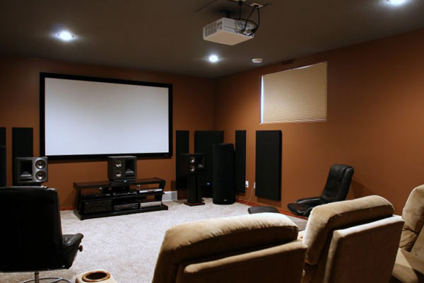 london 12 room home theatre