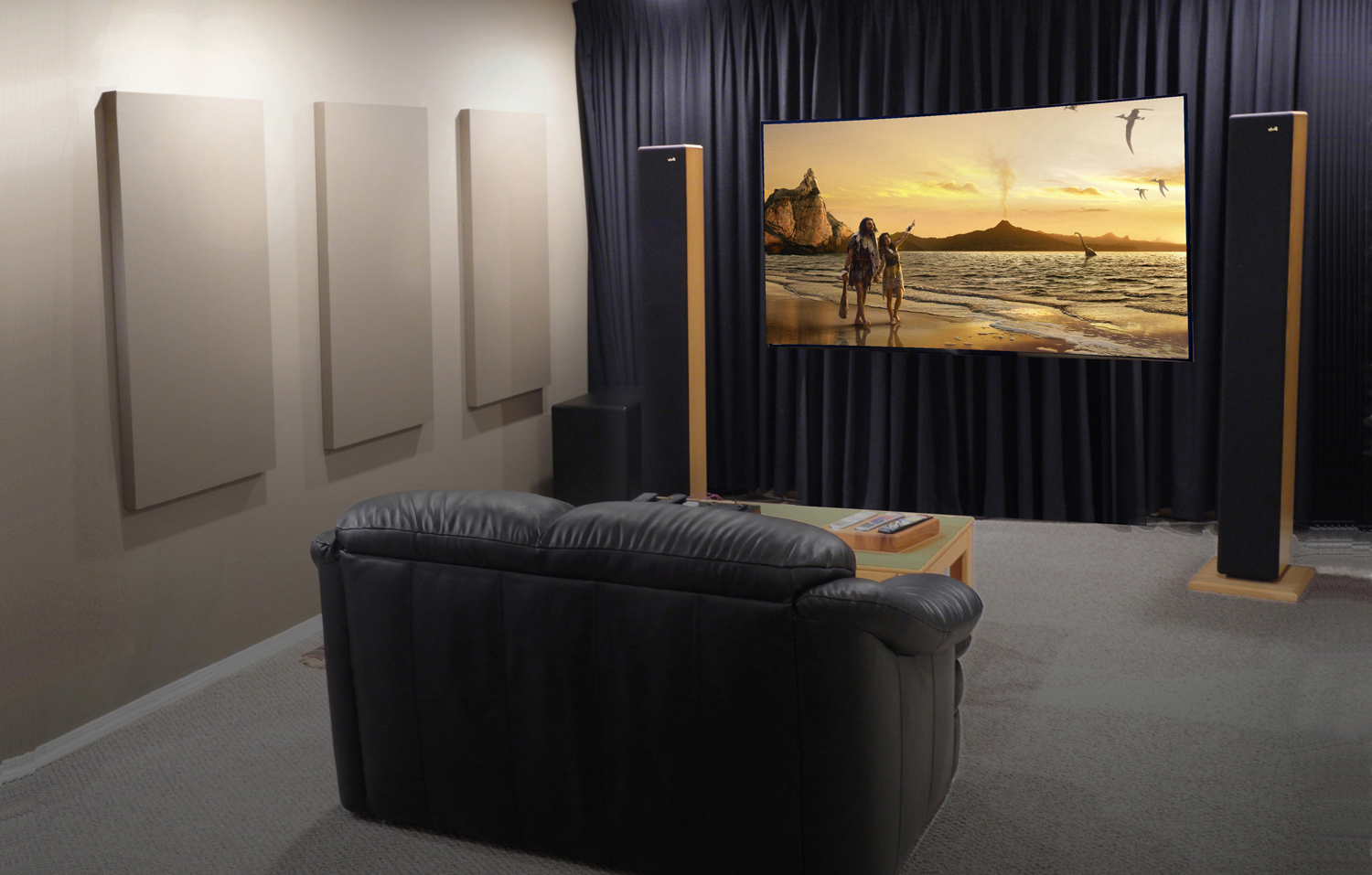 home theatre broadway panels