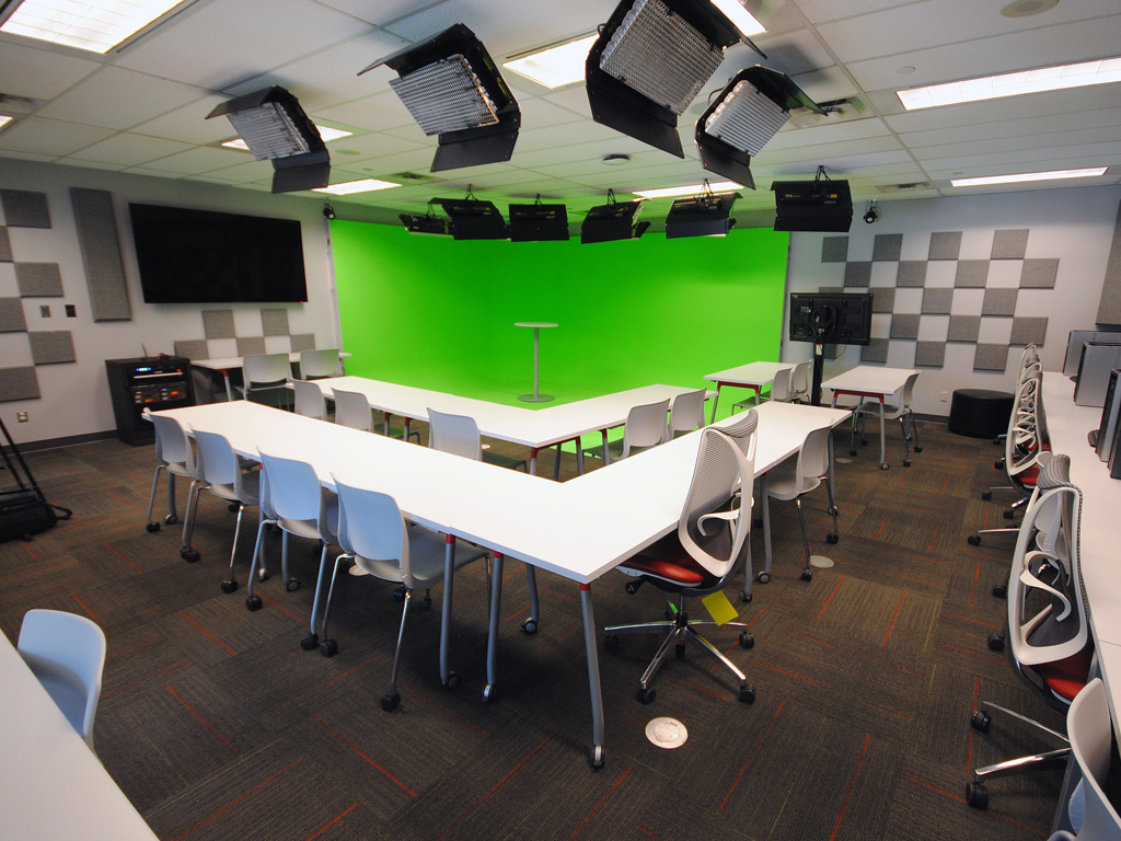 Primacoustic panels installed in video production studio