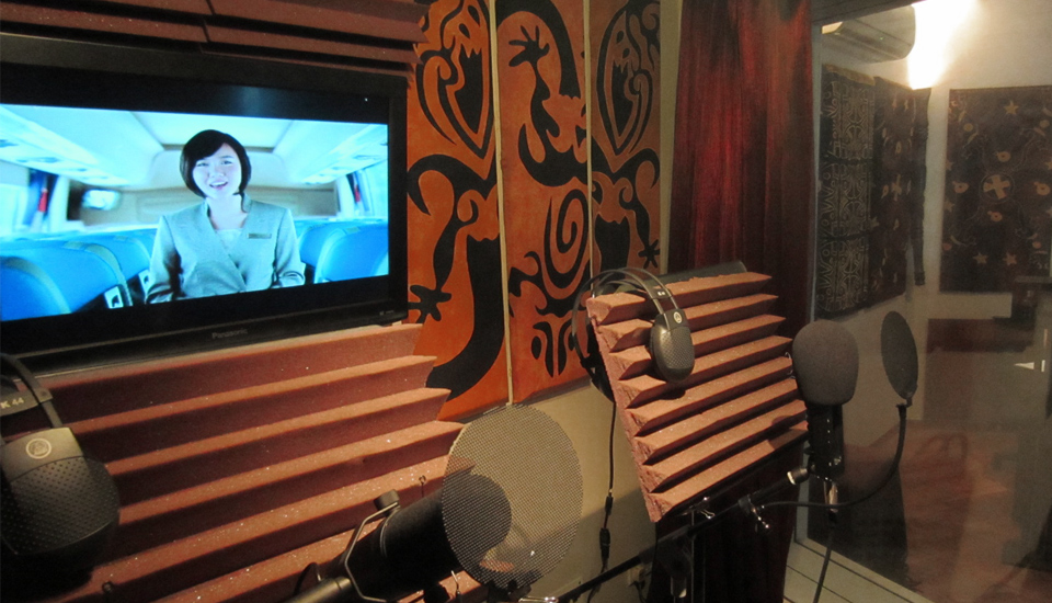 voice over studio acoustic treatment