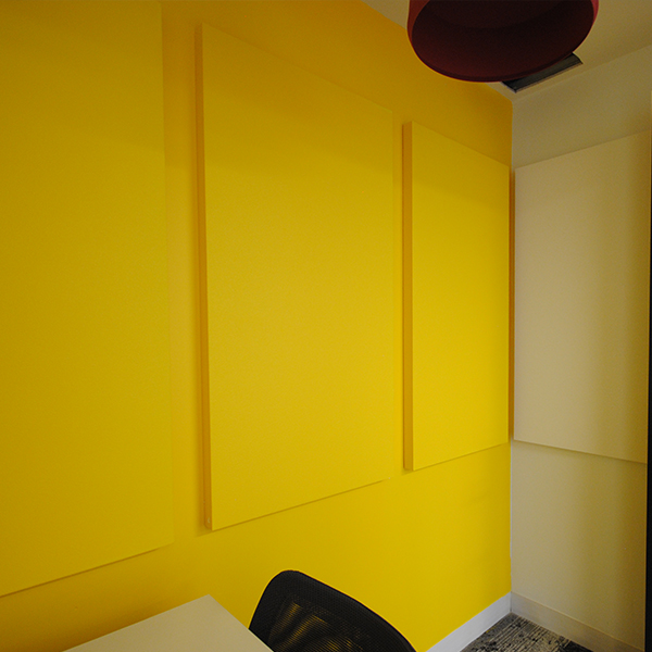 yellow paintables office broadway panels